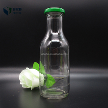 2017 New 330ml 11oz clear glass smoothie drink bottle