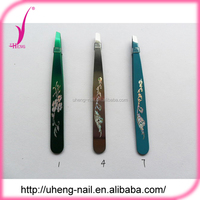 Wholesale stainless steel cute eyebrow tweezers