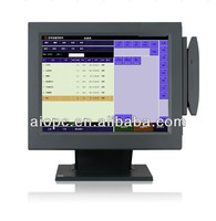 17 Inch All in One LED Touch Screen Keyboard Cash Registers