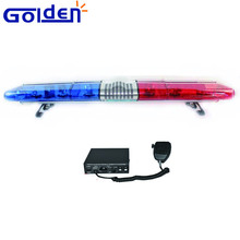 DC12v red blue Halogen Rotary emergency vehicle used warning bar police roof light