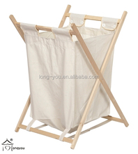 wooden commercial laundry basket collapsible laundry basket