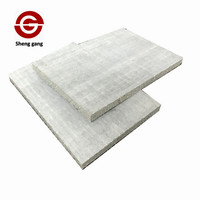 Fireproof material moisture resistant decoration MgO Wall Board