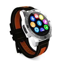 Bluetooth Watch MTK2501 Dual System for Apple&Android Bluetooth 4.0 heart rate test(optional)