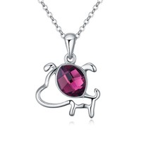 Wholesale Lasted Design Fashion Meaningful Initial Animal Pendant Necklace