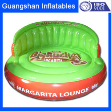 Hot sales Party colourfu inflatable big round sofa chair