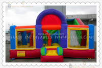 PVC commercial outdoor bouncy castle,inflatable combo B3075