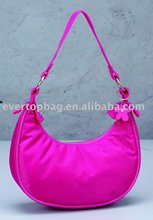 New custom light pink lady's handbag
