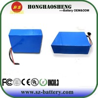 good price rechargeable 18650 li-ion electric car battery pack 48v 30ah