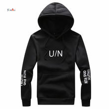 mens designer clothing wholesale oversized sport black hoodie string drawstring