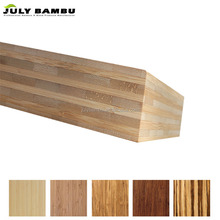 The hard horizontal 40 mm bamboo panels for bamboo bed