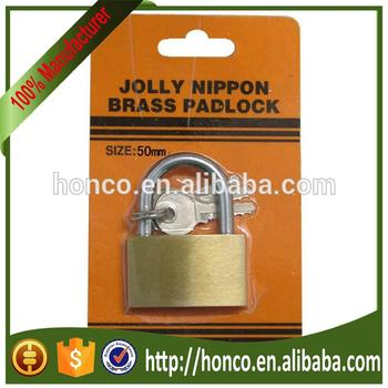 hot selling solid 50mm brass padlock