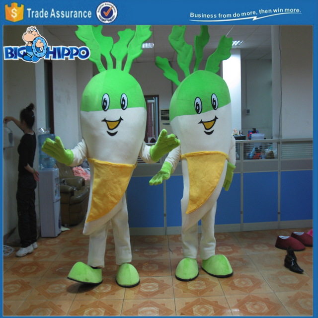 Healthy kale vegetarian vegetable high quality custom mascot costume