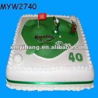 40 years old golf course resin gift birthday imitation food 3d model