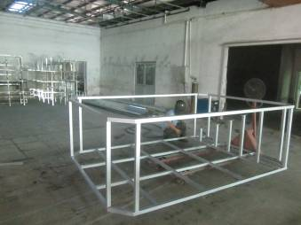 Hardware frame assembly