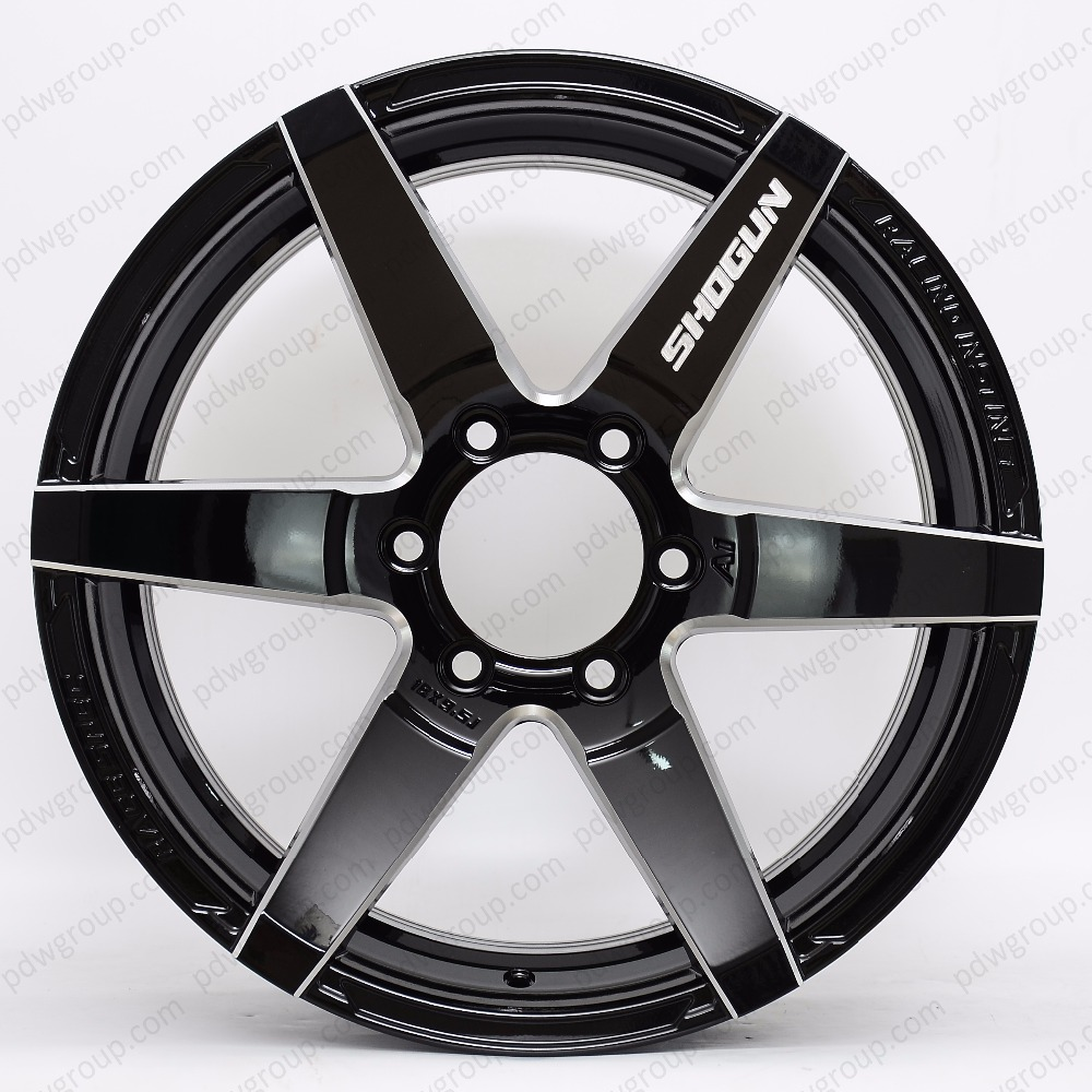 JDM tuning Motorsport wheels black alloy wheel from Chinese factory