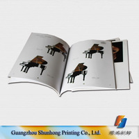 Custom design cheap price product catalog printing