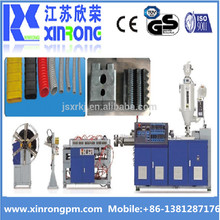 PE Single Wall Corrugated drain Pipe Machine