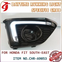 Car Accessories FOR SOUTH EAST HONDAA JAZZ DRL Daytime Running LIGHT