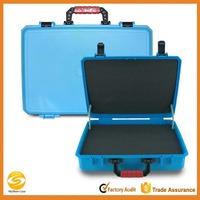 Molded Blue plastic flight tool carrying case,flight tool storage box