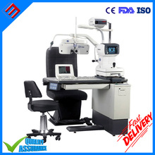 Eye Exam Equipment Ophthalmic Optometry Unit refraction unit Table Chair and stand for eye clinic