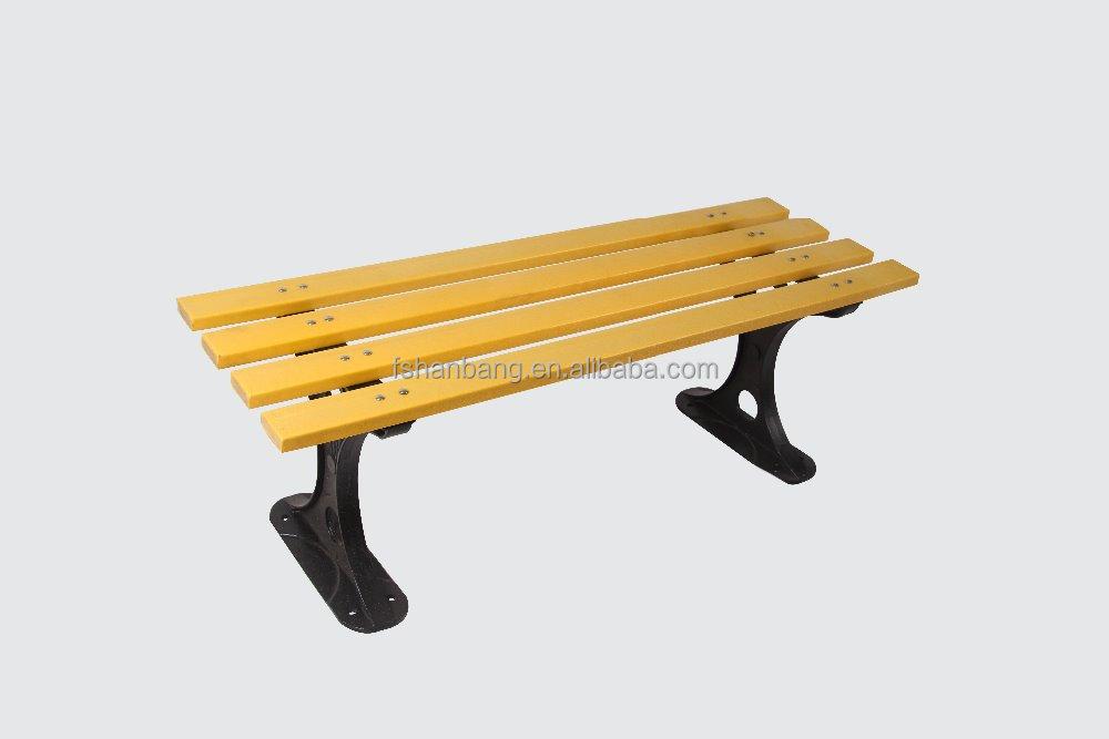 Contemporanea moderna in legno per esterni mobili da giardino patio parco lunga panca sedia con - Mobili per esterni in legno ...