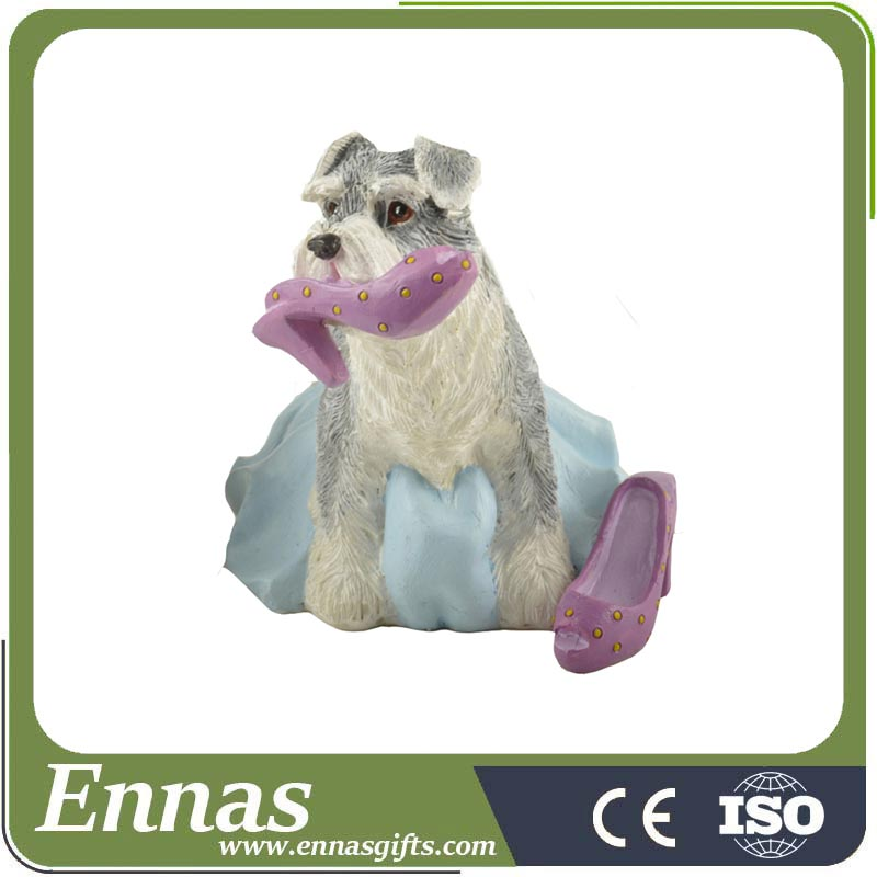Polyresin dog lovers presents for decoration