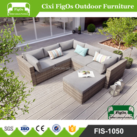 Outdoor Furniture Patio Garden Rattan Wicker Sofa Couch Set