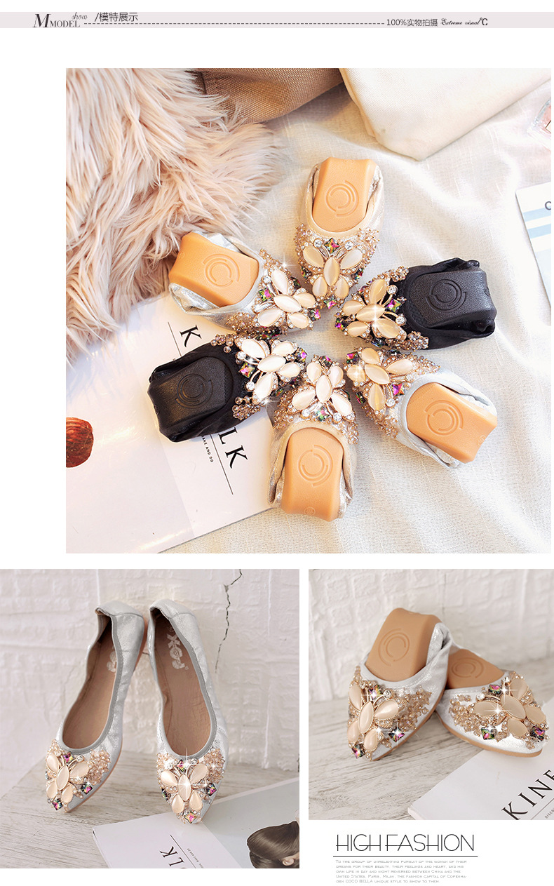 High quality big size butterfly flats shoes women casual shoes jelly shoes women