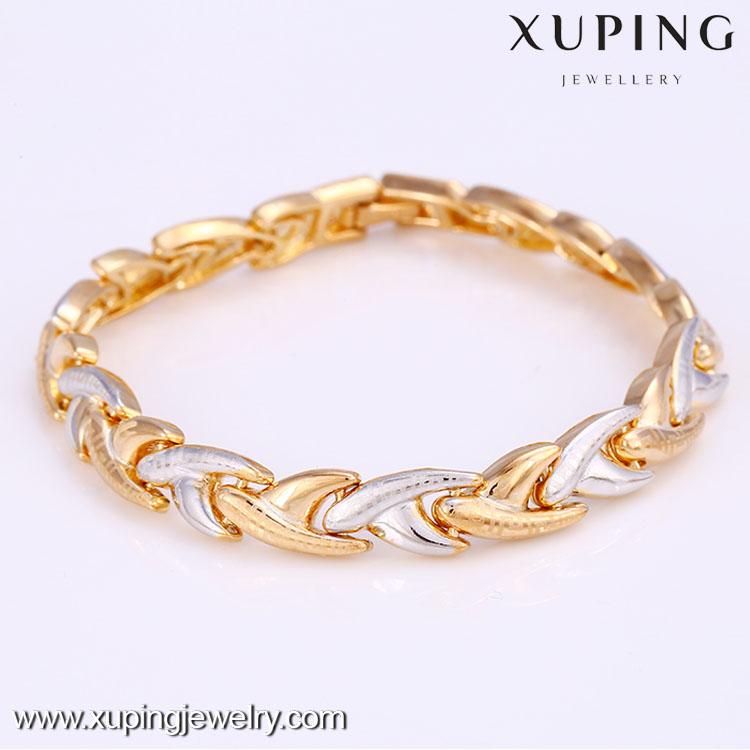 72137 Xuping Jewelry fashion snap multicolor bracelet