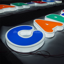 Good quality stainless steel radiant led letter sign with great price
