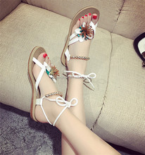 2017 newest version of fashion ladies flat shoes, women shoes with low heel sandals