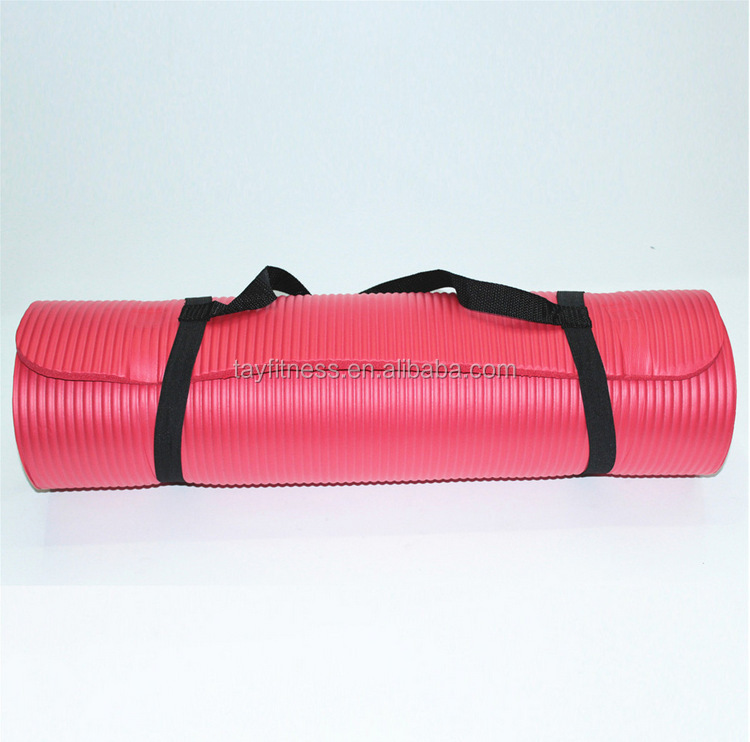 10mm Thick NBR Non-slip Exercise Fitness Yoga Mats