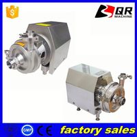 centrifugal pump transfer milk beer, stainless steel daily milk pump