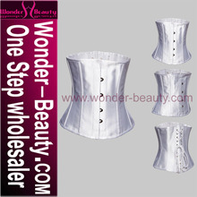 Big Girl Sexy Waist Training Corset White Sexy Corset