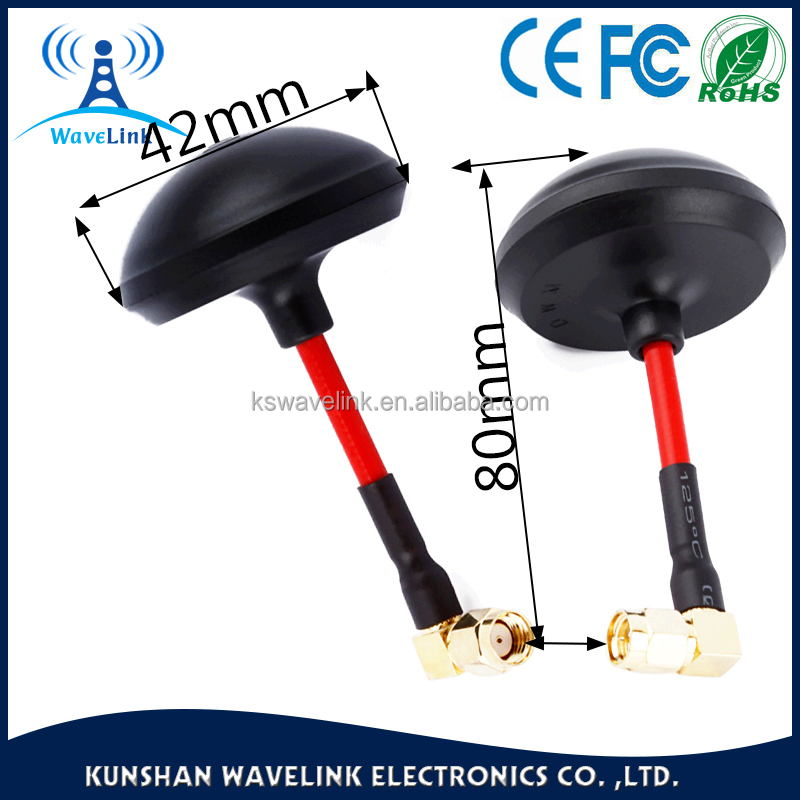 Manufacturer dual band 5.8ghz 2.4g fpv omnidirectional mushroom antenna
