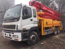 47M Concrete Pump Truck Hot Sell, Used Concrete conveying pump truck