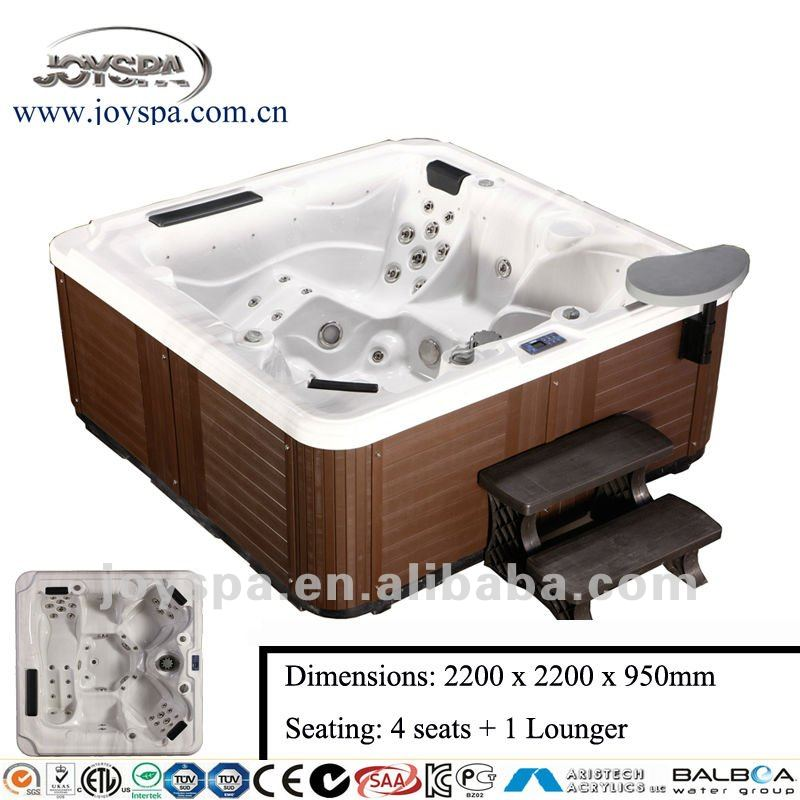 New CE Balboa Hot Tub Copper Sitting Bathtub Spa Bath