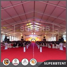 big aluminim frame wedding party marquee tent for event with outdoor air conditioning