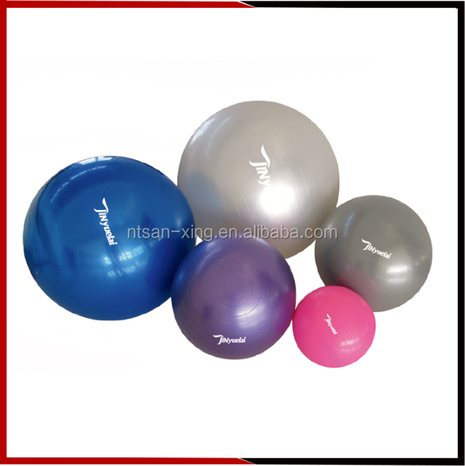 High Quality Eco-friendly PVC fitness gym ball with exercise ball Yoga ball