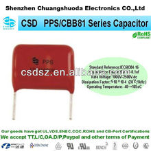 PPS / CBB81 super high farad capacitor