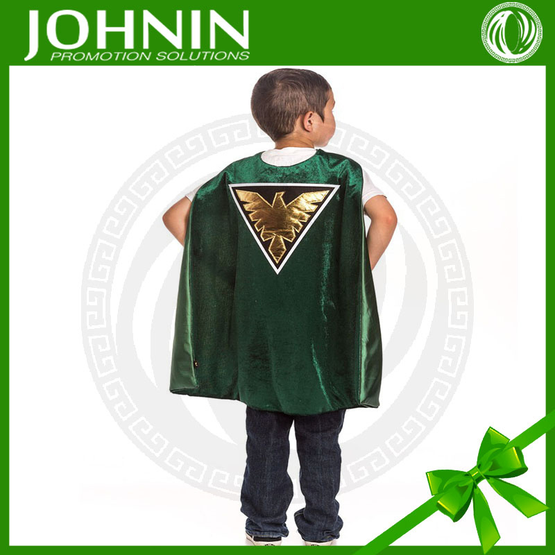 2015 Fashion Cosplay Costume Kids Superhero Costume Capes