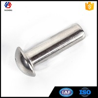 China Fastener Stainless Steel Cup Head Rivet for Wood
