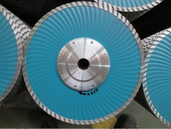 "230x7x22.23mm-5/8""-11 flange cold press turbo diamond saw blade for bricks, granite,marble and concrete.With frange"