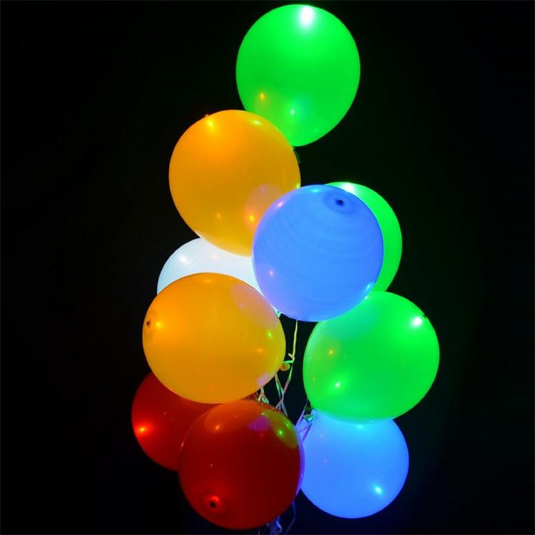 Factory Price balloon stand for decoration led balloon christmas party decoration balloon