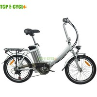 Top E-Cycle High Quality CE Approval Aluminium Lithium Ion Battery Pack 250W 26Inch 2 Wheel Electric Vehicle