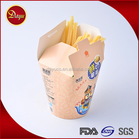 Customize design cookie packaging noodle biscuit box