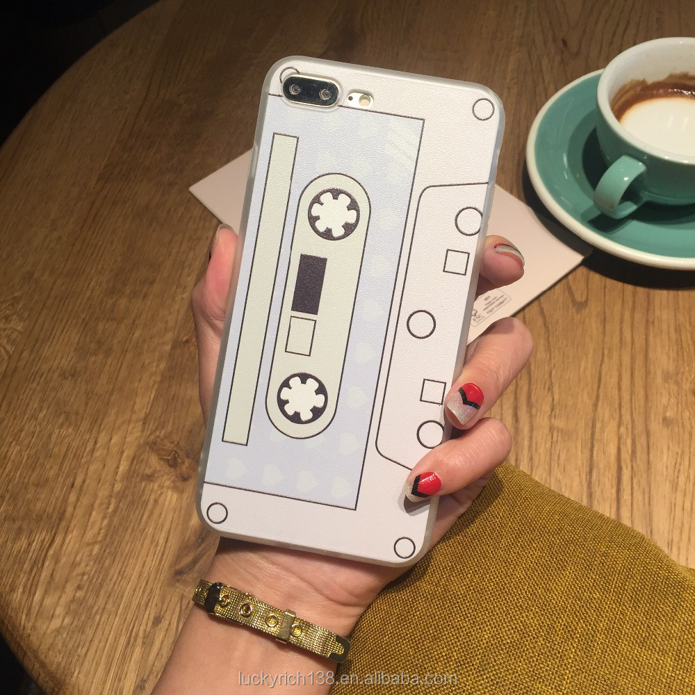 Music tape tpu phone case for iPhone 6/7