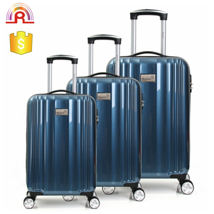 Decent ABS PC hard shell urban luggage with wheels