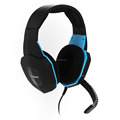 Wired Stereo Gaming Headphone Headset with detachable Microphone rubber coating
