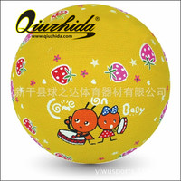 Children's inflatable basketball size. 3 Kindergarten game ball elementary outdoor sports basketball factory direct sale